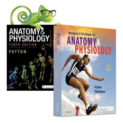 Anthony'S Textbook of Anatomy & Physiology, 21e and Elsevier Adaptive Quizzing for Anatomy & Physiology, Anz 10e Value Pack